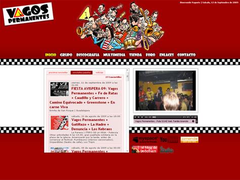 Web de Vagos Permanentes 2009