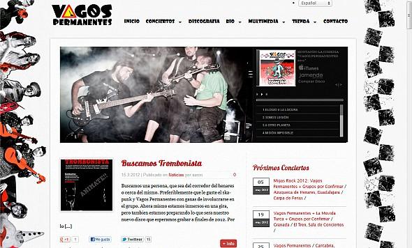 Web de Vagos Permanentes 2012